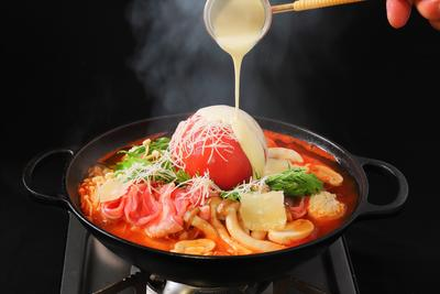 THE BUND_クアトロチーズ鍋.JPG