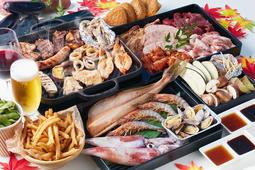 【あべのハルカス展望台内「Beer300」】海鮮もお肉も味わえる秋BBQ登場!9月7日よりスタート!