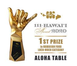 ハワイ州観光局公認「111-HAWAII AWARD 2020」にて「ALOHA TABLE Waikiki」が3年連続1位獲得