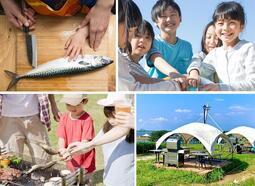 """【実施報告】SORAMIDO BBQで「ASC認証⿂を捌いて海の資 源について学ぶ""""親⼦で知る!つくる!⾷べる!""""体験」"""